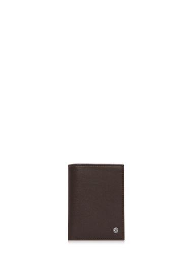Cengiz Pakel Deri Küçük Boy Renk Erkek Cüzdan Kahve